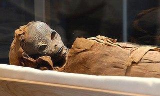 エジプトで発見地球外のミイラ